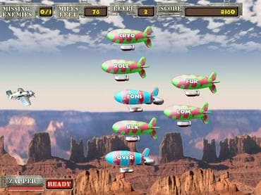 Air Typer - Typing Game Free Game