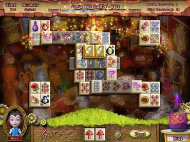 Alice's Magical Mahjong Free Game