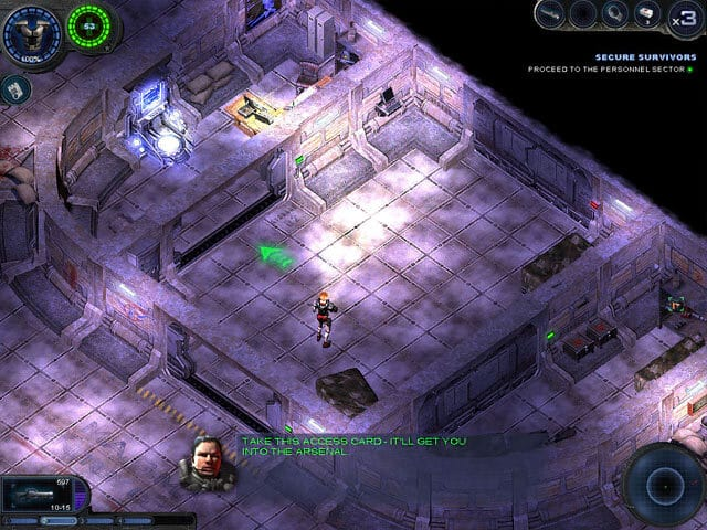 Alien Shooter 2 Free PC Game Screenshot