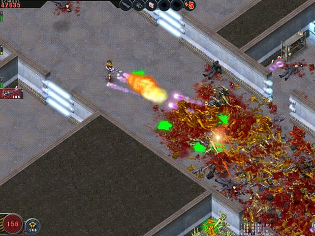 Alien Shooter Free PC Game Screenshot