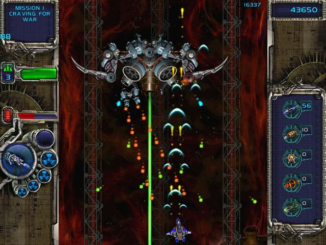 Alien Wars Free PC Game Screenshot