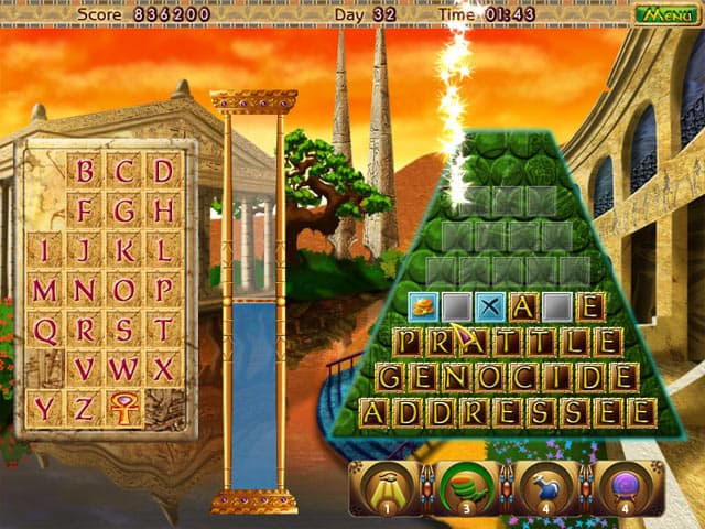 Amazing Pyramids Free PC Game Screenshot