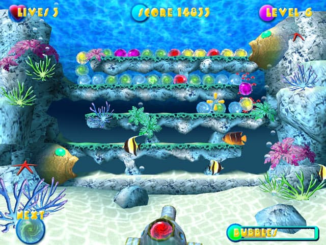 Aqua Pop Free PC Game Screenshot