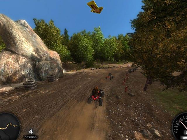 ATV Offroad Racing Screenshot 1