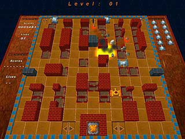 Battle City Free PC Game Screenshot
