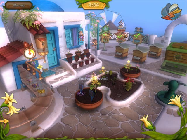 Bee Garden Free PC Game Screenshot
