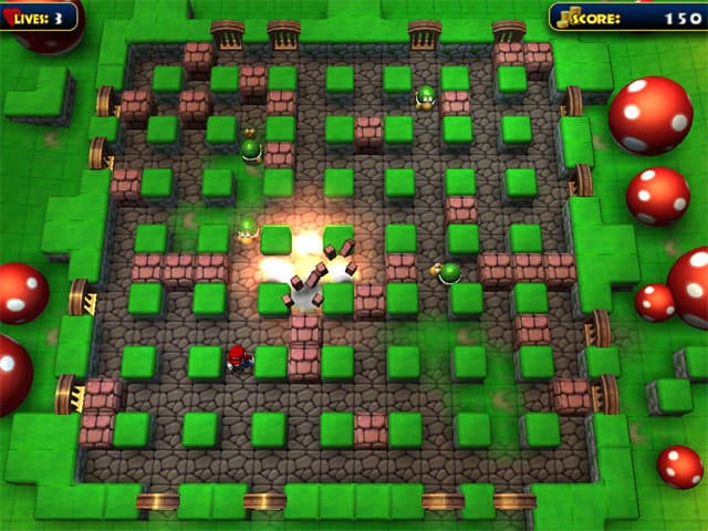 Bomber Mario Free PC Game Screenshot