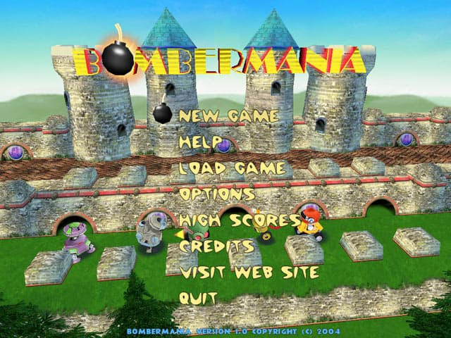 Bombermania Free PC Game Screenshot