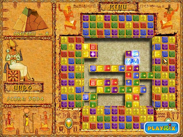 Brick Shooter Egypt Free PC Game Screenshot