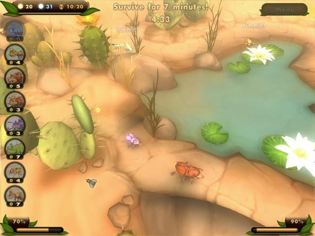 Bug Bits Free PC Game Screenshot
