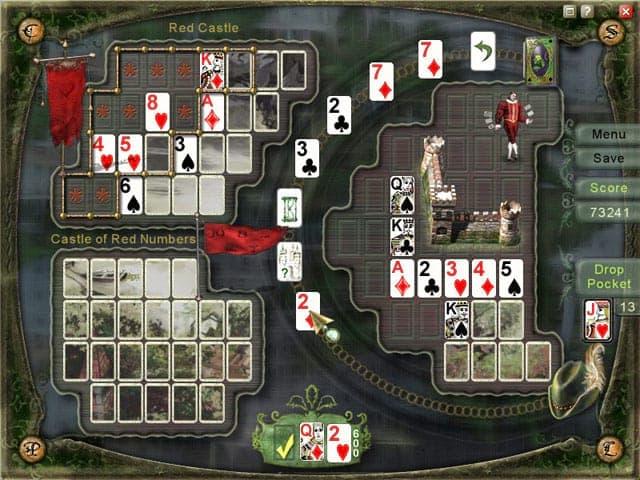 Charm Solitaire: Return to the Kingdom Screenshot 1