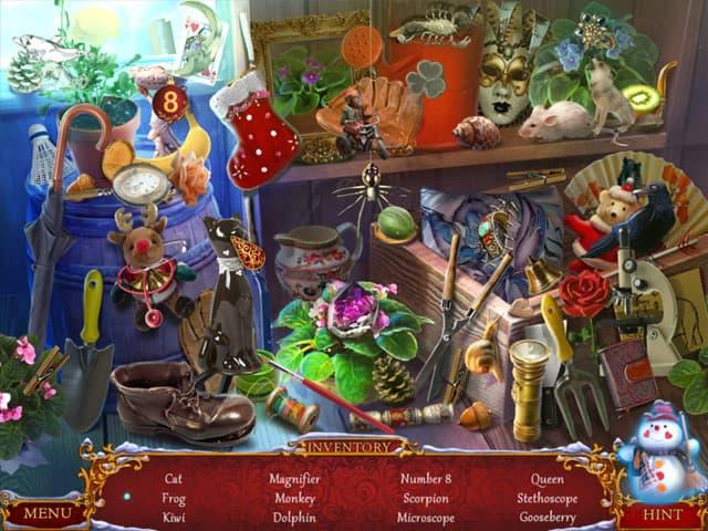 Christmas Adventure: Candy Storm Screenshot 1