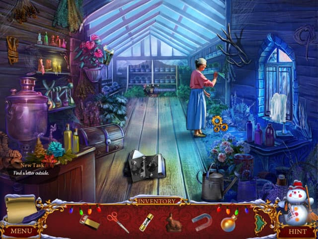Christmas Adventure: Candy Storm Screenshot 2
