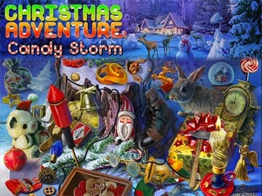 Christmas Adventure: Candy Storm Giochi Gratis