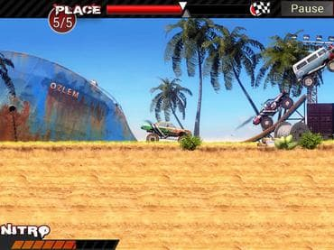 Crazy Monster Trucks Free Game