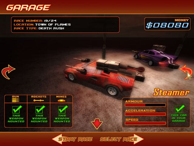 ����� ���� ������ ������ Deadly Race 3D ���� 40 ����