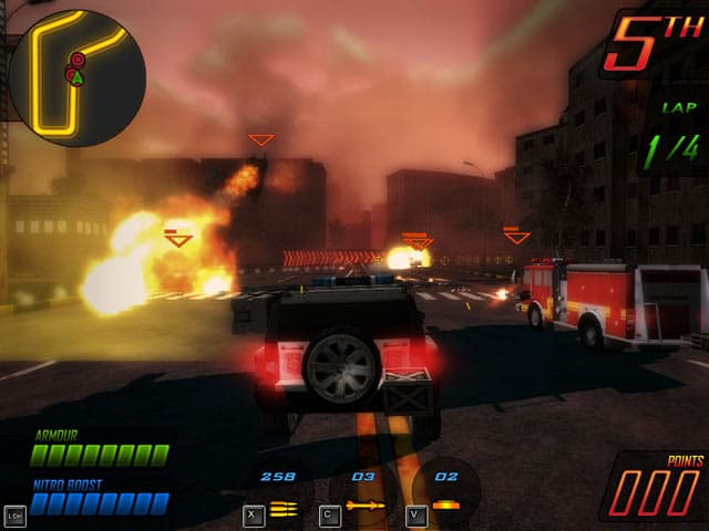 Deadly Race Free PC Game Screenshot