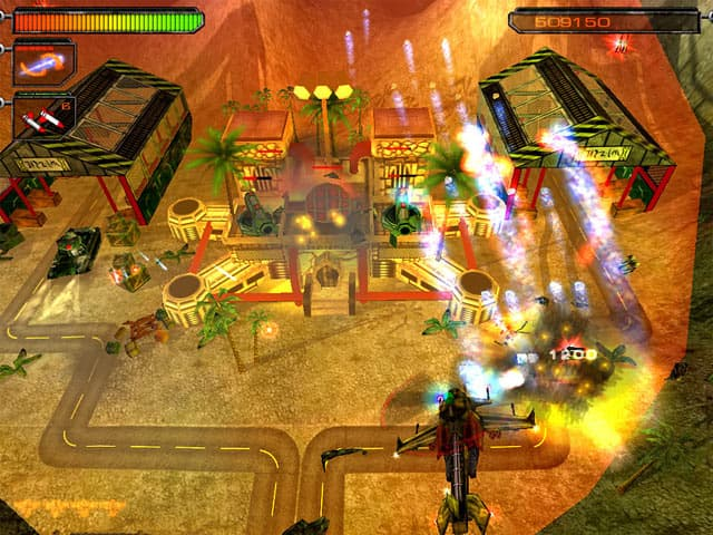 Desert Hawk Free PC Game Screenshot