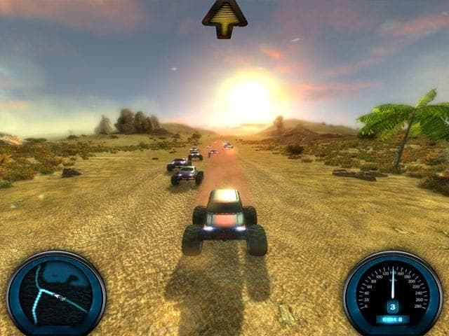 Desert Race Screenshot 2