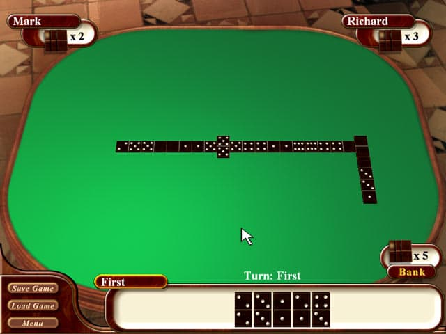 Dominoes Free PC Game Screenshot