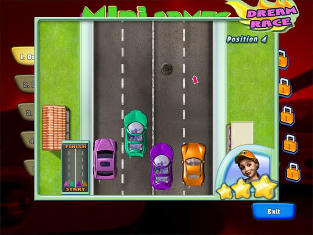 Dream Cars Free PC Game Screenshot