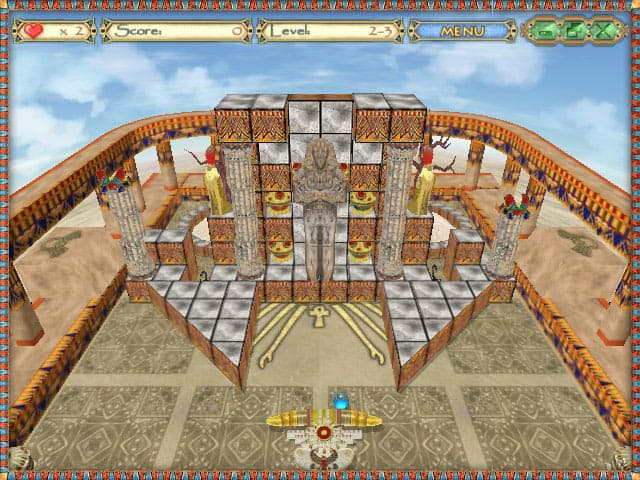 Egyptian Ball Free PC Game Screenshot