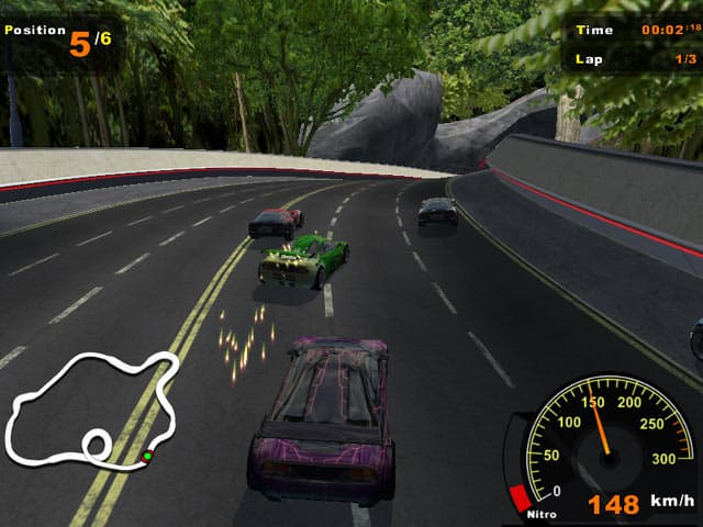 Extreme Racers Free PC Game Screenshot
