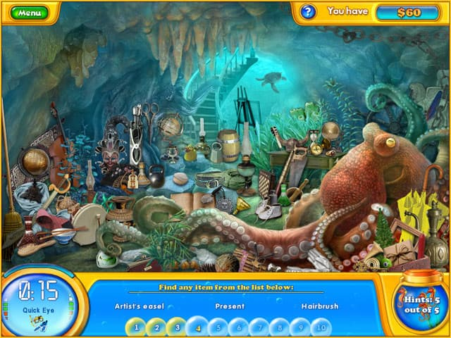 Fishdom H2O: Hidden Odyssey Free PC Game Screenshot