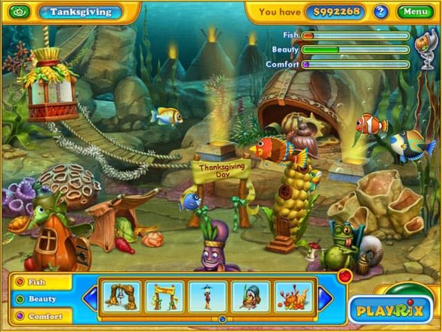 b1 Fishdom Harvest Splash Free Full Version PC Game