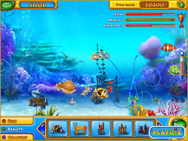 Fishdom Free PC Game Screenshot
