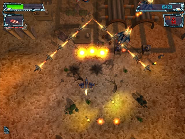 Galaxy Strike Free PC Game Screenshot