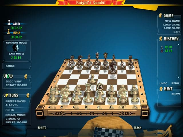 Gambit Chess - by GameTop - 2d & 3d - Download