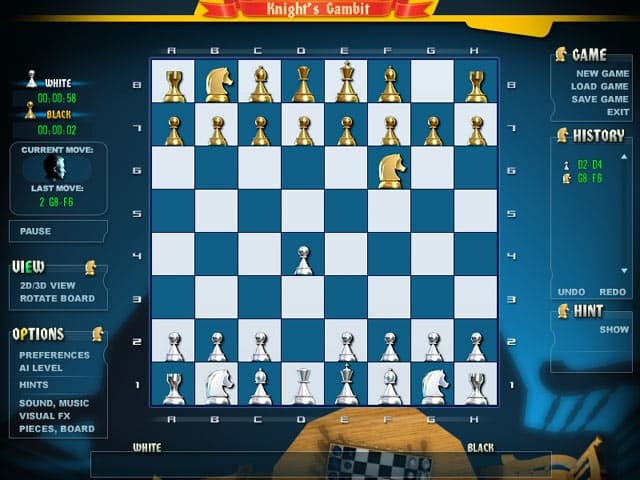 Gambit Chess Free PC Game Screenshot