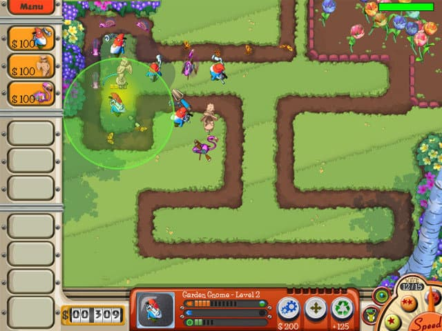 Garden Defence Free PC Game Screenshot