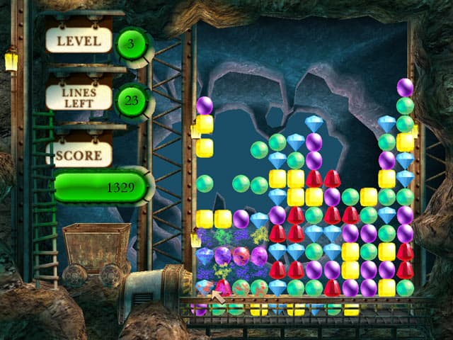 Gem Mine Puzzle Free PC Game Screenshot