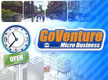 GoVenture: Micro Business Free Game