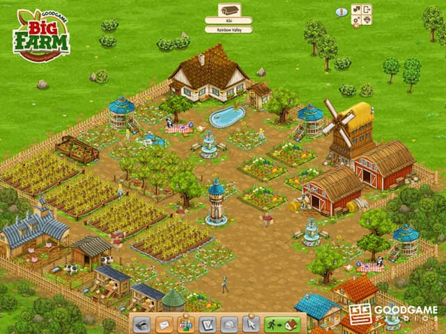 Big Farm Free PC Game Screenshot