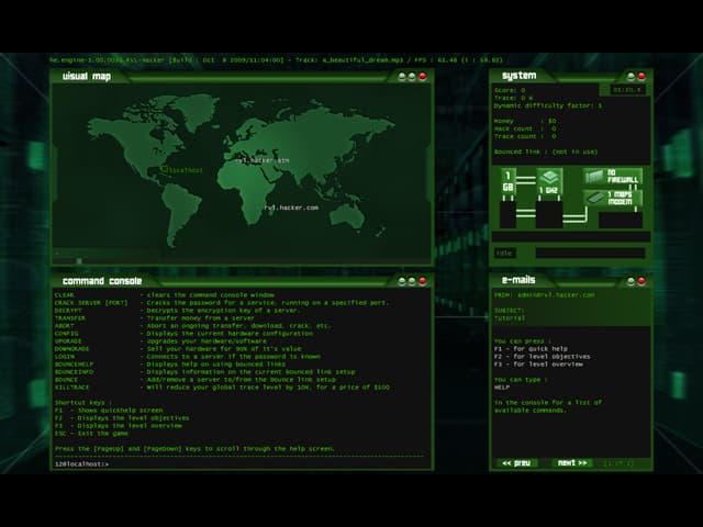 Hacker Free PC Game Screenshot