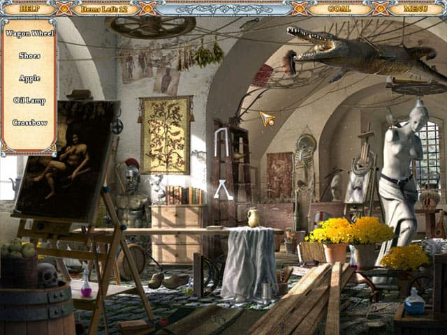 Hidden Secrets: Nostradamus Free PC Game Screenshot