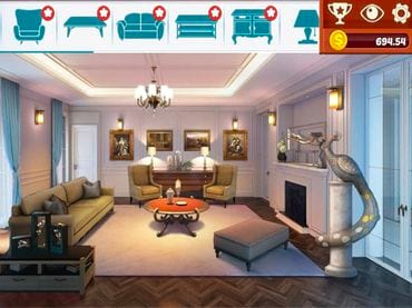 Home Designer: Living Room Juegos Gratuitos