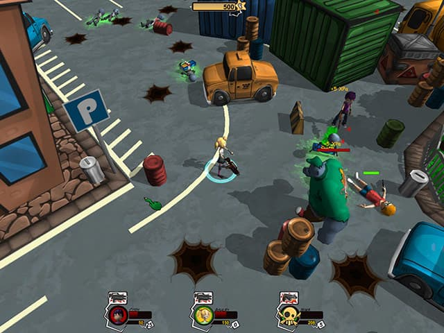 HotZomb: Zombie Survival Free PC Game Screenshot