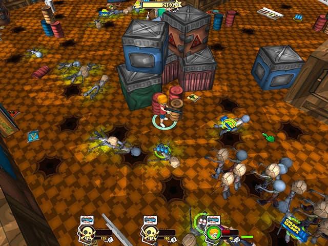 Hot Zomb: Zombie Survival Screenshot 1
