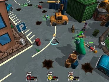 Hot Zomb: Zombie Survival Free Game