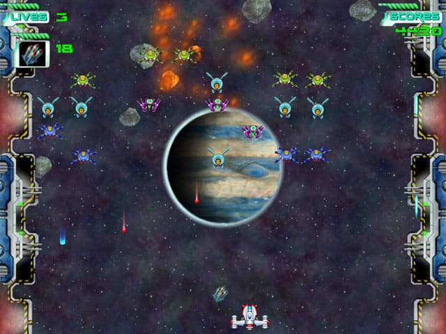 Space Invaders Free PC Game Screenshot