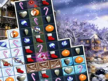 Jewel Match Snowscapes Free Game