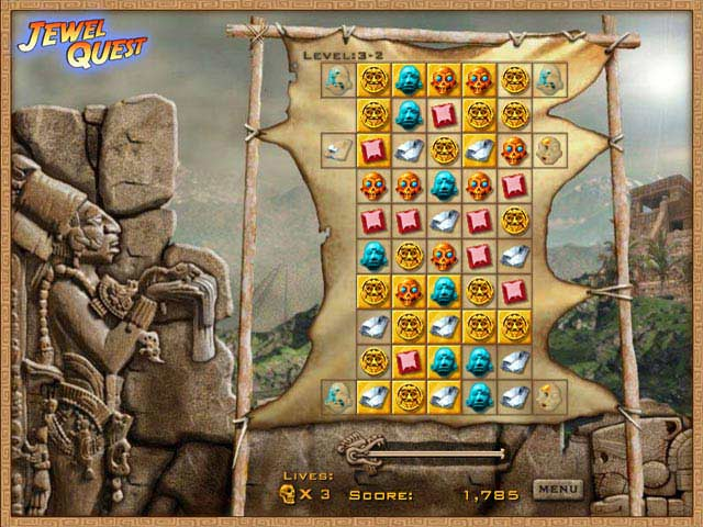 Jewel Quest Free PC Game Screenshot