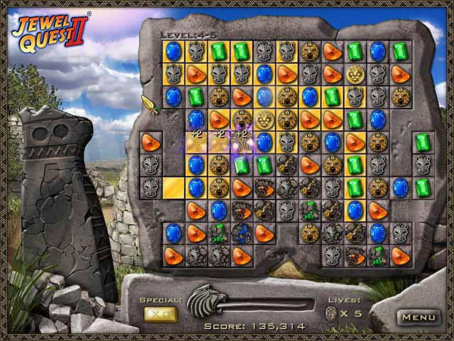 Jewel Quest 2 Free PC Game Screenshot