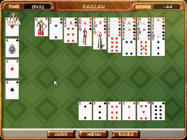 Klondike Solitaire Free PC Game Screenshot