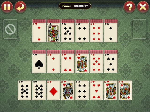 Lucky Pyramid Solitaire Screenshot 2