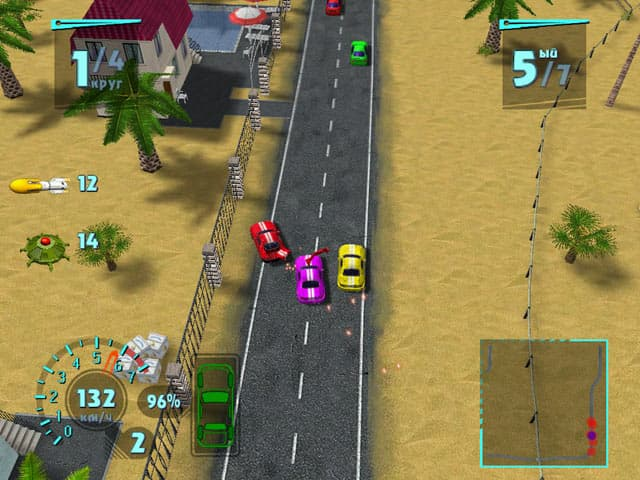 Mad Race Free PC Game Screenshot